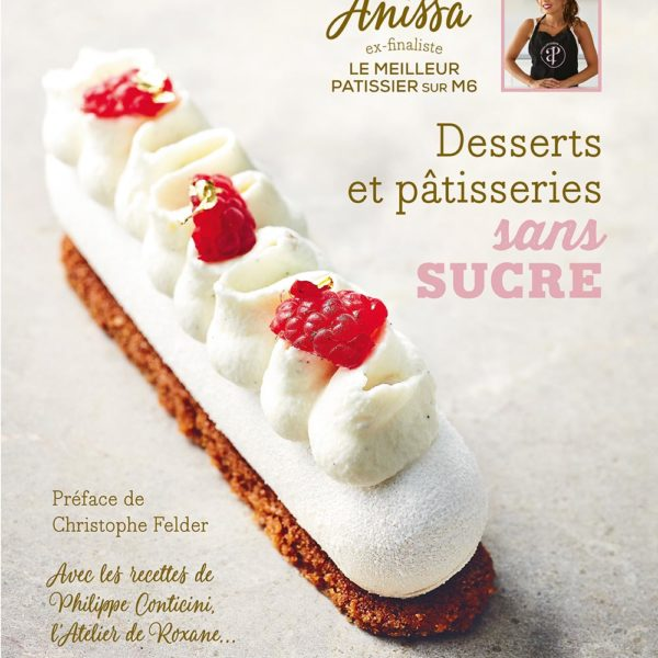 Decouvrez mon premier livre de pâtisseries et desserts sans sucre. Toutes les recettes sont adpatés aux personnes diabétiques .